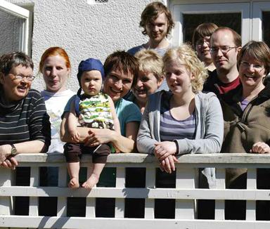 Barnfamiljer på Slottet, Lund